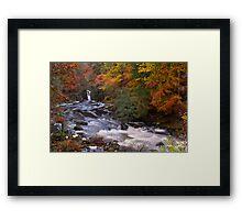 River Braan, Perthshire Framed Print