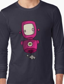 ROBOT PINK Long Sleeve T-Shirt