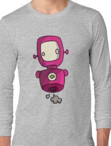 ROBOT PINK Long Sleeve T-Shirt
