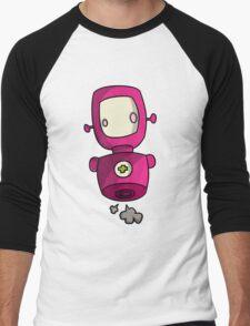 ROBOT PINK Men's Baseball ¾ T-Shirt