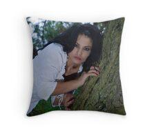 Irynuca tree nymph Throw Pillow