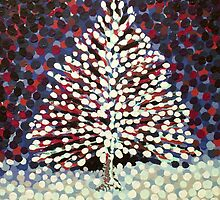 The Snow Tree by Alan Hogan