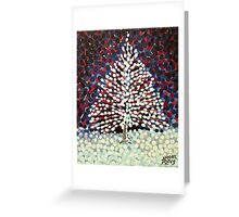 The Snow Tree Greeting Card