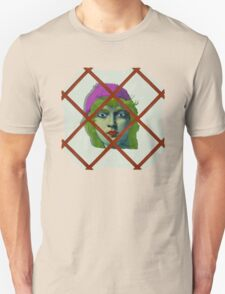 The Girl in the window. Unisex T-Shirt
