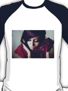 portrait with roses T-Shirt