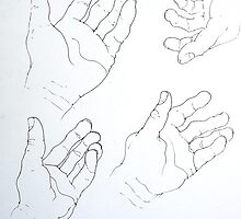 Do not let your left hand know what your right hand is doing. by Richard  Tuvey