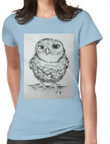 Owly 2 Womens Fitted T-Shirt