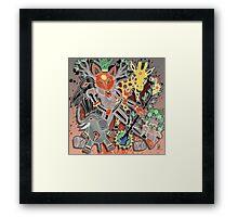 fox trot dance Framed Print