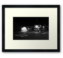 Fifty-Fifty Culburra Beach Framed Print
