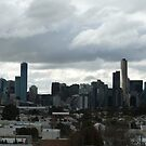 Cloudy Melbourne by Joan Wild