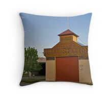 CFA, Beuafort - Beaufort Fire Station. Throw Pillow
