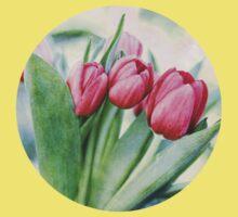 Twilight Tulips Kids Tee
