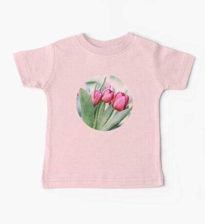 Twilight Tulips Baby Tee