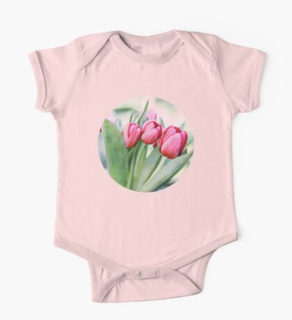 Twilight Tulips One Piece - Short Sleeve