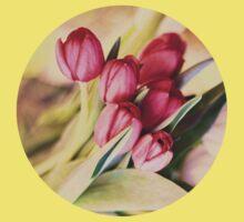 Vintage Tulips Baby Tee