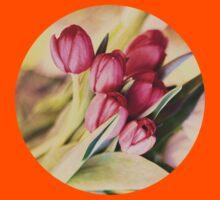 Vintage Tulips Kids Clothes