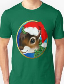 Christmas Squirrel Face T-Shirt