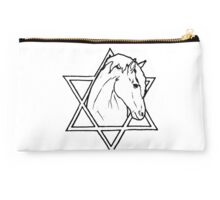 The horse of wisdom Studio Pouch