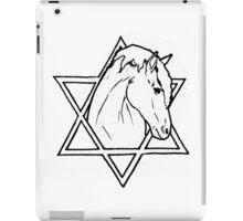The horse of wisdom iPad Case/Skin