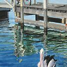 By the jetty, Mallacoota by Freda Surgenor