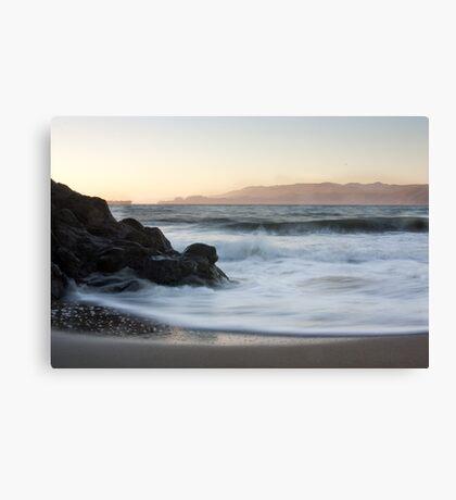 Dusk - San Francisco Bay Canvas Print