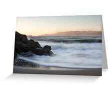 Dusk - San Francisco Bay Greeting Card