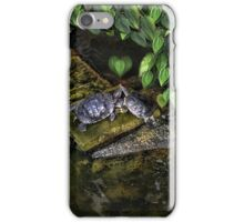 DON'T MAKE ME COME OVER THERE AND LOVE U--CAUSE I WILL RIGHT NOW..LOVE TURTLES-PICTURE,PILLOW,CARD,TOTE BAG,ECT. iPhone Case/Skin