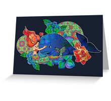 Love Comes in All Shapes and Sizes Greeting Card