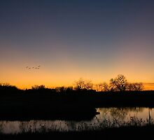 Nightfall in Nebraska by Mark Van Scyoc