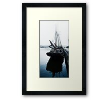 Schooner Tall Ship Framed Print
