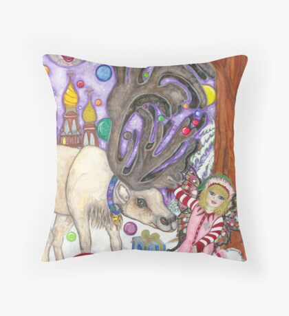 B-Dear Throw Pillow