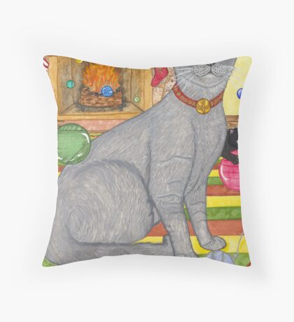 B-Merry Throw Pillow