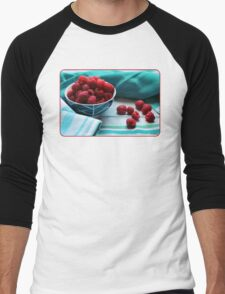 Ruby Delicious Men's Baseball ¾ T-Shirt