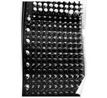 A Section of the Original ENIAC computer Poster