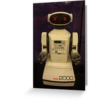 Omnibot 2000, Computer History Museum, Mountain View, California Greeting Card
