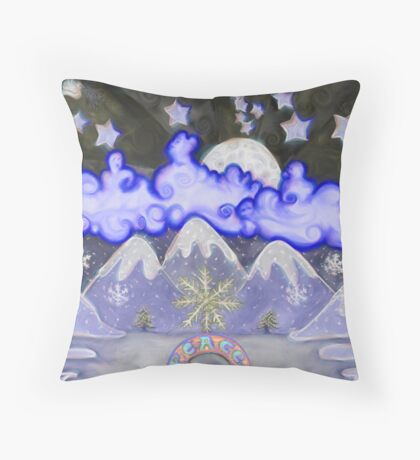 Dreams Of Peace  Throw Pillow