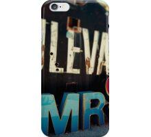Mrs Neon iPhone Case/Skin