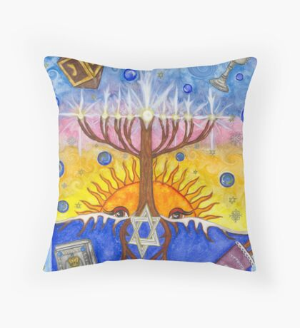 Bubbles Of Light  Throw Pillow