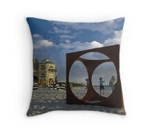 Cottesloe Beach Throw Pillow