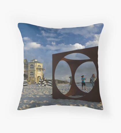 Cottesloe Beach Throw Pillow