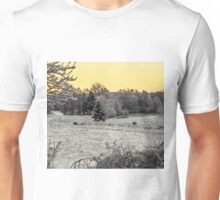 Winter deers Unisex T-Shirt