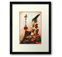 Shisha Tea Town Framed Print