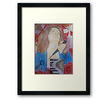 Sing Me To Heaven Framed Print