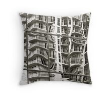 Reflections of Riverplace Throw Pillow