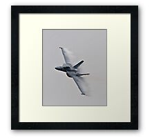 F18- Pt Magu Air Show Framed Print