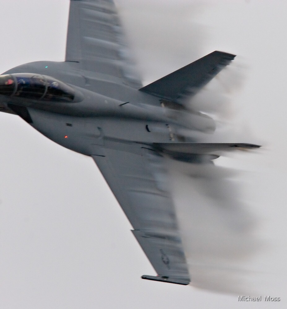 F18 Jet - Pt Magu Airshow by Michael  Moss