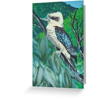 Kookaburra Mural Greeting Card