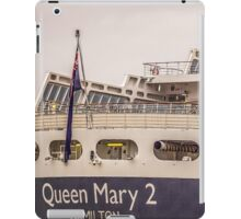 Queen Mary 2 iPad Case/Skin