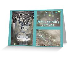 Sparkling New Year - JUSTART © Greeting Card