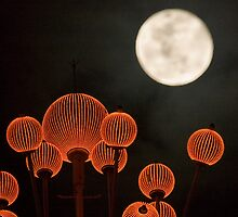 Full Moon at Macau by thousandsmile
